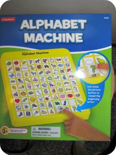 Alphabet Machine