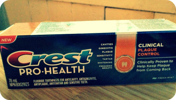 Crest Pro-Health Clinical Protection Plaque Control Toothpaste