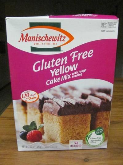 Manischewitz Gluten Free Yellow Cake Mix