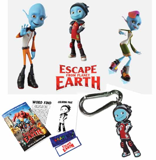 Escape From Planet Earth Giveaway