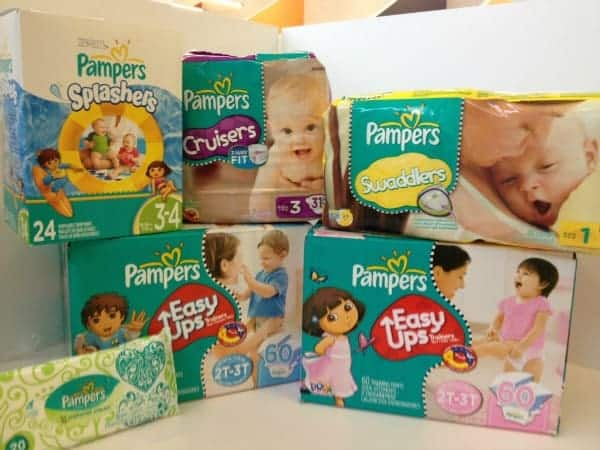 Pampers Win Diapers for a Year