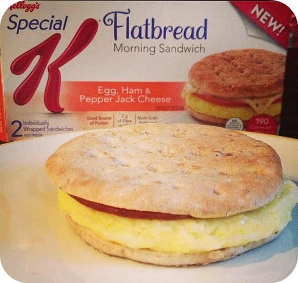 Special K Flatbread Morning Sandwiches