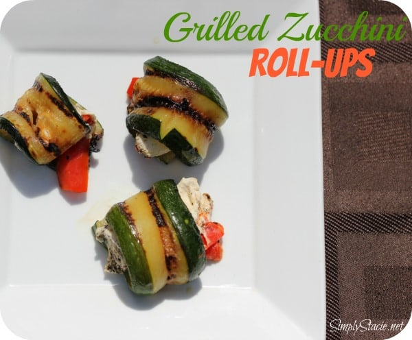 Grilled Zucchini Roll-Ups