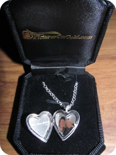 "Sterling Silver Heart ""Valentine"" Sweetheart Heart Photo Locket"