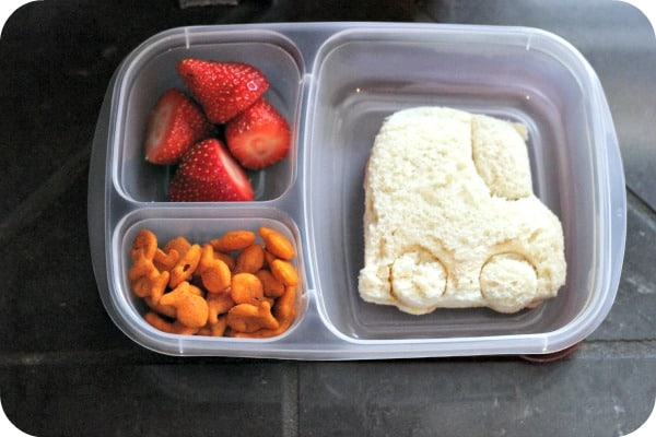 "Snack Pack ""No Tradesies"" Lunch"