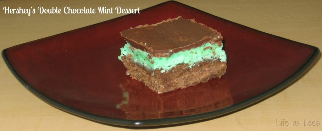 Hershey's Double Chocolate Mint Dessert