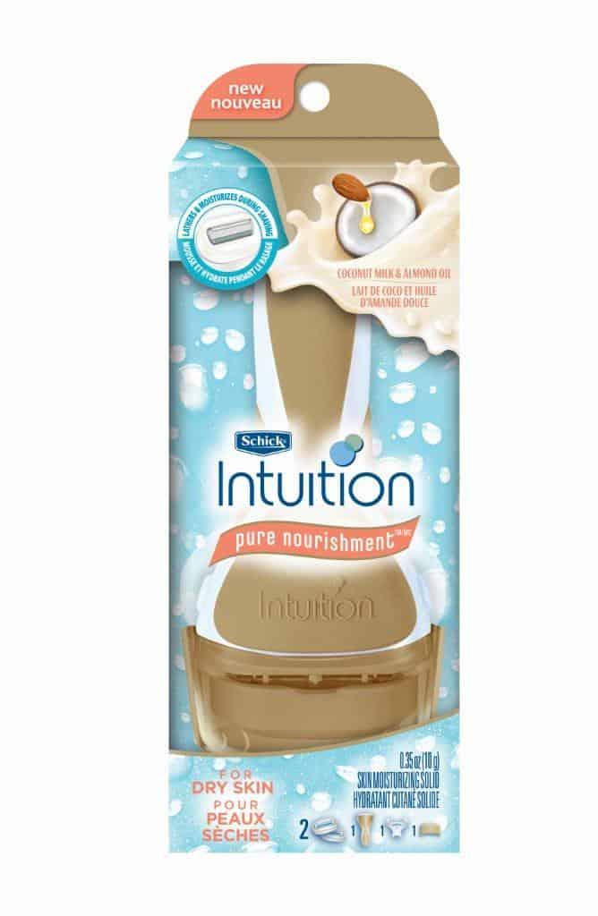 Schick® Intuition® Pure Nourishment™ razor