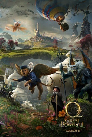 Disney's Oz the Great and Powerful Film Review #DisneyOzEvent