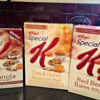 Special K breakfasts
