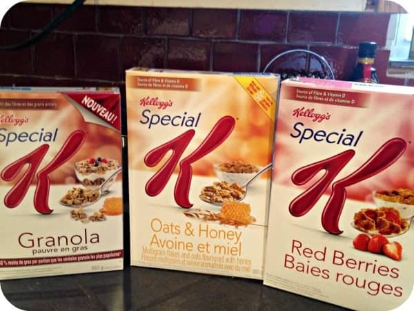 Special K breakfasts