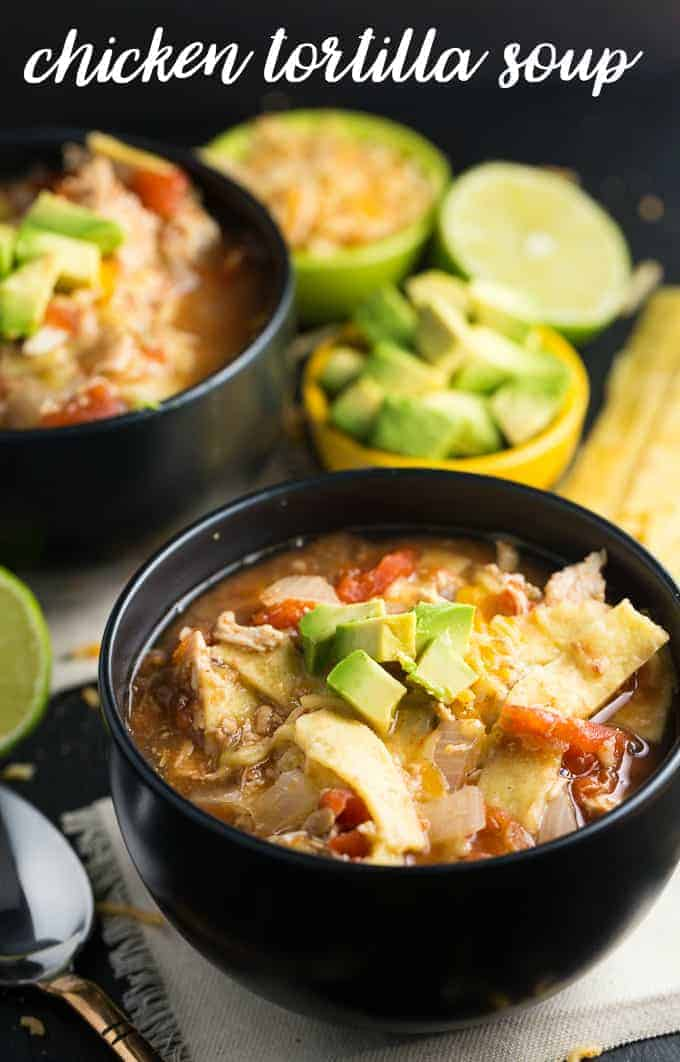Chicken Tortilla Soup Recipe - Simply Stacie