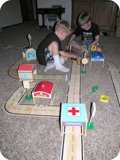 Guidecraft® Community Buildings Wooden Toy Set Review