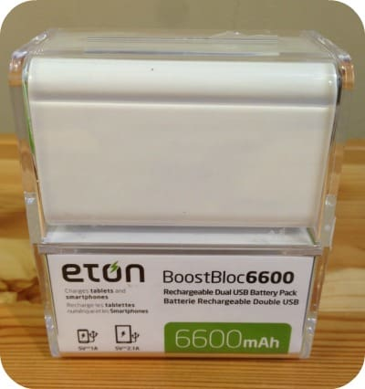 Eton BoostBloc6600 Review