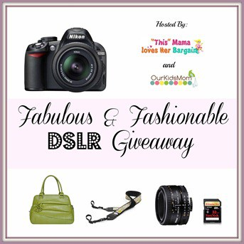 Fabulous & Fashionable DSLR Giveaway