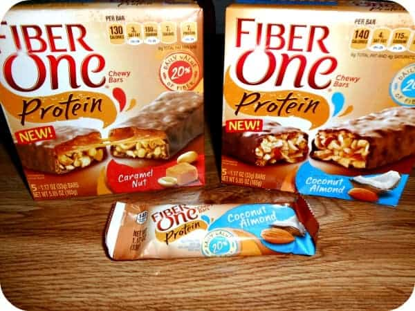 Fiber One Protein Chewy Bars Review
