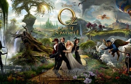 Disney's Oz the Great and Powerful Chrome Experiment #DisneyOzEvent
