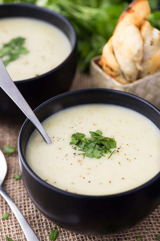 Leek Cream Soup - Smooth, creamy and full of delicious flavour!