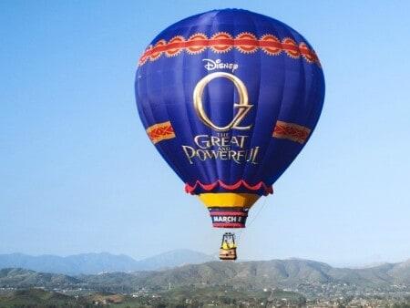 Journey to Oz Balloon Tour Launches on February 12th #DisneyOzEvent