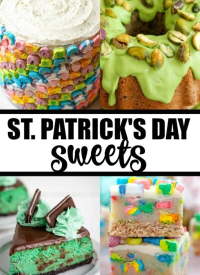 St. Patrick's Day Sweets