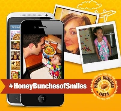 Honey Bunches of Oats Send a Smile