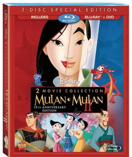 Celebrate the 15th Anniversary of Disney's Mulan on Bluray/DVD March 12th Bluray Combo Review #DisneyOzEvent #Mulan