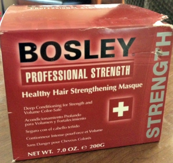 Bosley Pro Healthy Hair Strengthening Masque
