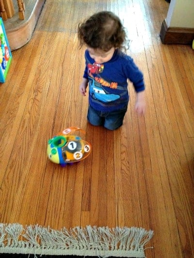 Bright Starts Having a Ball Count 'n Roll Buggie Review