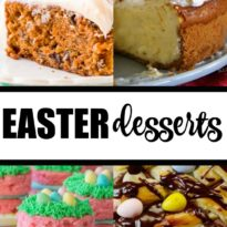 Easter Desserts - It's time for Easter so why not celebrate the occasion with some scrumptious and sweet Easter desserts.