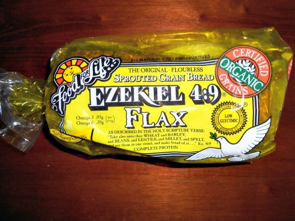 Ezekiel 4:9 Flax Sprouted Grain Bread Review