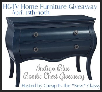 HGTV Home Furniture Giveaway (US) #hgtvgiveaway