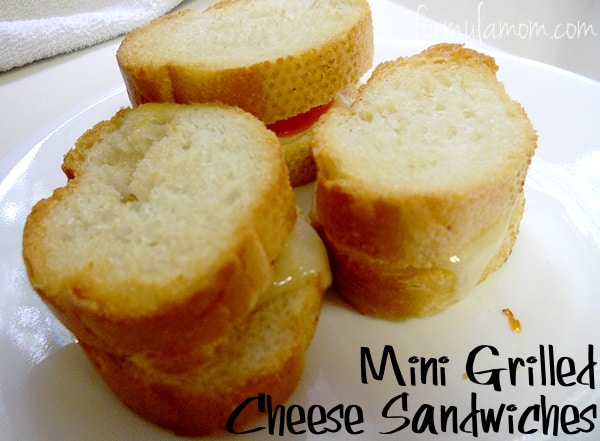 Double Stuffed Grilled Cheese Sandwich from Clever Housewife