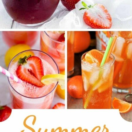 Summer Beverage Recipes - Browse through this fun collection of summer beverage recipes and choose a few to try. Each of the recipes is easy to make and will make the perfect addition to your summer drink collection! They are perfect for you, family, and also for entertaining.
