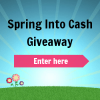 $500 Spring Into Cash Giveaway (WW)