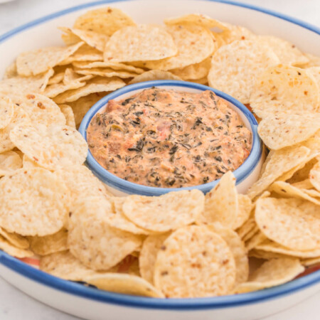 Tex-Mex Spinach Dip - Add a little spice to your dip!