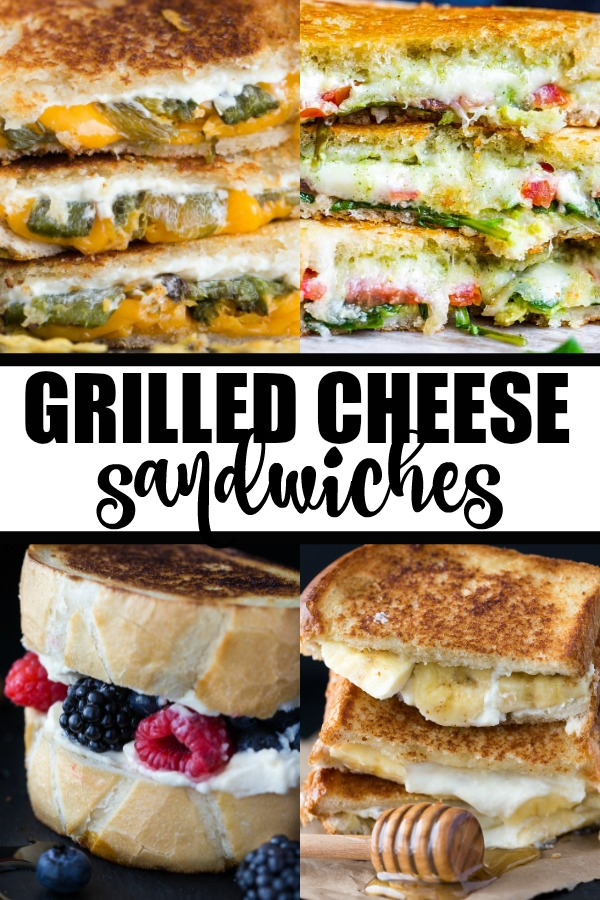 Grilled Cheese Sandwiches - Serve up a comforting grilled cheese to take all your cares away. Crispy bread, ooey-gooey cheese, nothing beats it. Now, if you are feeling lucky, you might want to venture out for more adventurous flavor pairings.