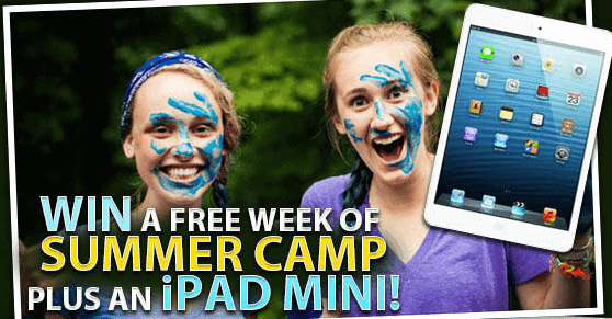 Inter-Varsity Camp Contest for iPad Mini & Free Week at Camp