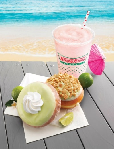 Krispy Kreme Key Lime Staycation Giveaway