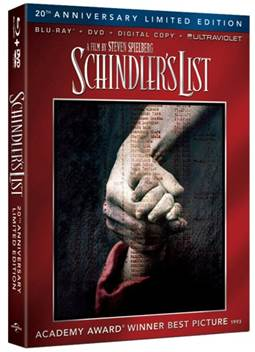 Schindler's List 20th Anniversary Limited Edition Blu-Ray Review