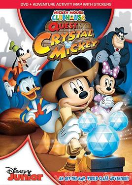 Mickey Mouse Clubhouse Quest for Crystal Mickey DVD Review