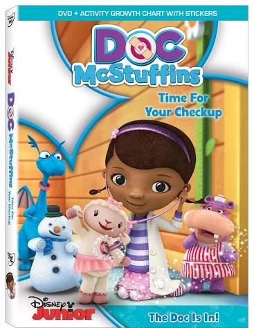 Doc McStuffins: Time For Your Checkup on DVD