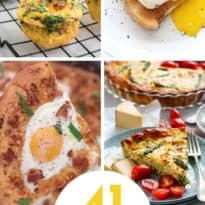 Easy Egg Recipes - In this mouth-watering collection, you will find a variety of easy egg recipes to try on National Egg Day (or any other day for that matter).
