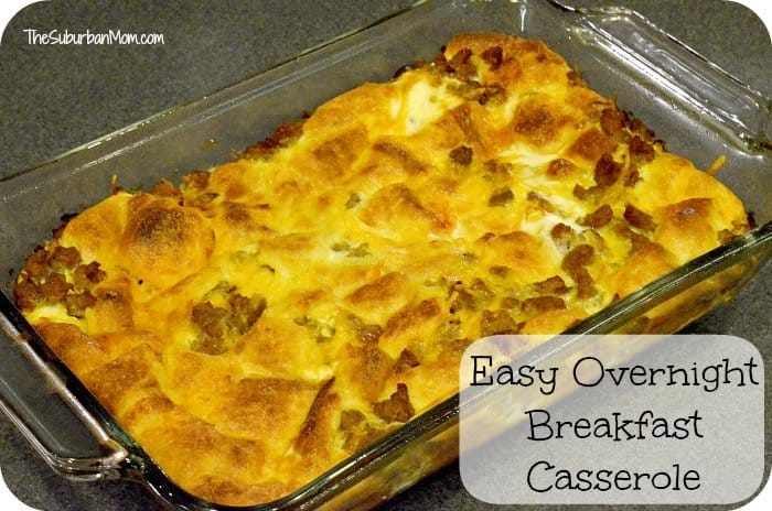 Easy egg casserole recipes for breakfast
