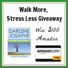 $100 Amazon GC Walking for Str$100 Amazon GC Walking for Stress Relief Giveawayess Relief Giveaway