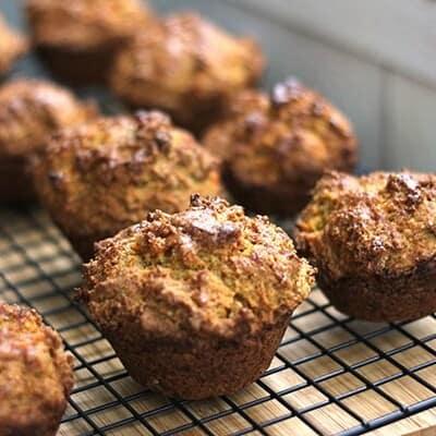 Sweet Potato & Five-Spice Muffins
