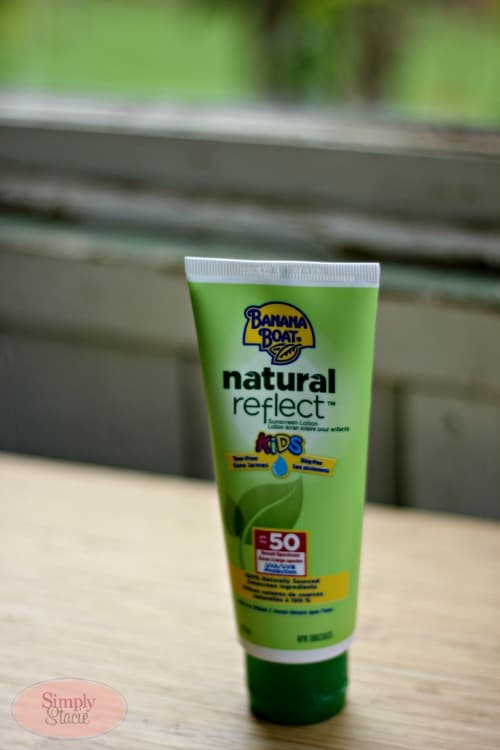 Banana Boat Natural Reflect Kids Sunscreen Lotion Review