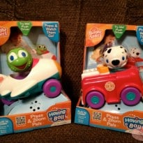 Bright Starts Having a Ball Press & Zoom Pals Review