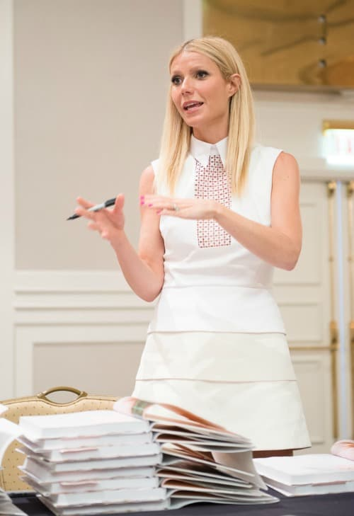 Gwyneth Paltrow Opens Up about Allergies and her Cook Book It's All Good #IronMan3Event