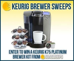 Win a Keurig Brewer Starter Kit