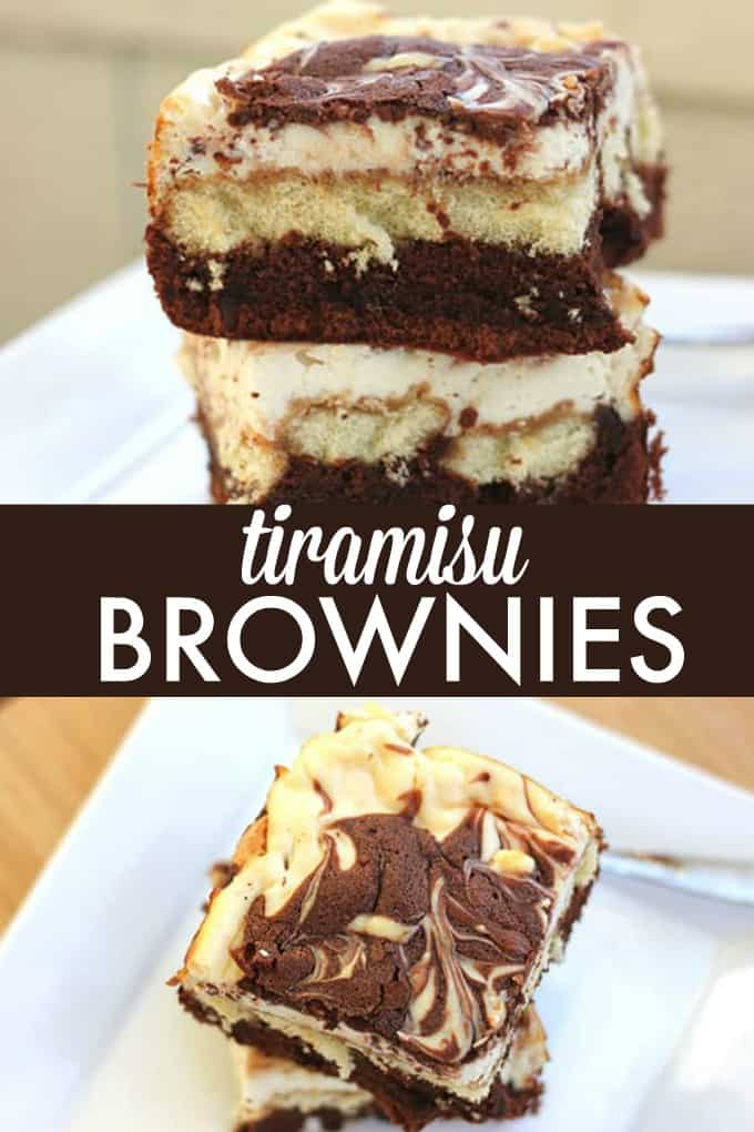 Tiramisu Brownies - Rich and sweet with a subtle coffee flavour, this layered dessert is a perfect ending to a meal.