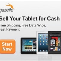Gazelle Tablet Trade-in $10 Promo